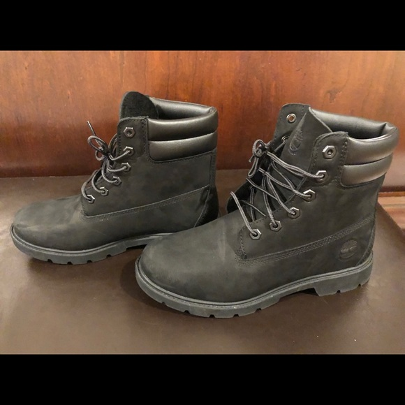 6108b3b72a Timberland Shoes - Timberland Women s Black Boot - 8 - Linden Woods